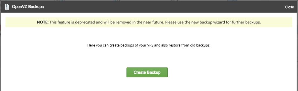 Tworzenie backupów na serwerze VPS