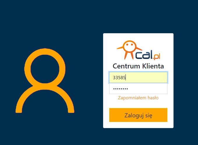 Logowanie do centrum.cal.pl