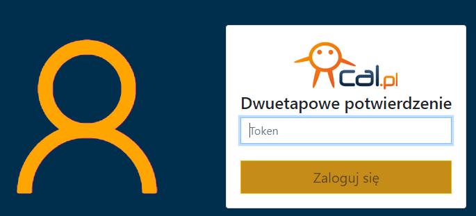 Drugie etap logowania do centrum.cal.pl